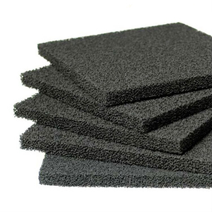 5pcs High Density Activated Carbon Foam 130*130*10mm Activated Carbon Filter Sponge Solder Smoke Absorber ESD Fume Extractor(China)