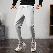 Heren Joggers Casual Broek Fitness Mannen Sportkleding Trainingspak Bodems Harem Joggingbroek Broek Zwart Sport Jogger Trainingsbroek 4XL(China)