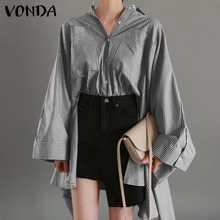 Camisa sólida casual solto elegante ol escritório blusas à moda blusa feminina vonda 2021 lapelas outono topos de manga longa mais tamanho