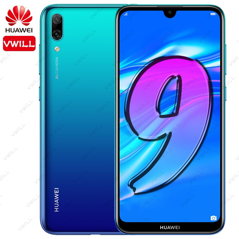 Global Rom Huawei Enjoy 9 Huawei Y7 PRO 2019 Mobile Phone 6.26'' Snapdragon450 Octa Core 13MP AI Dual Camera 4000mAh face unlock-in Cellphones from Cellphones & Telecommunications