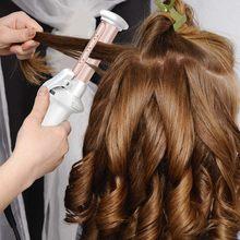 Щипцы для завивки волос беспроводные керамическая плойка 1 дюйм