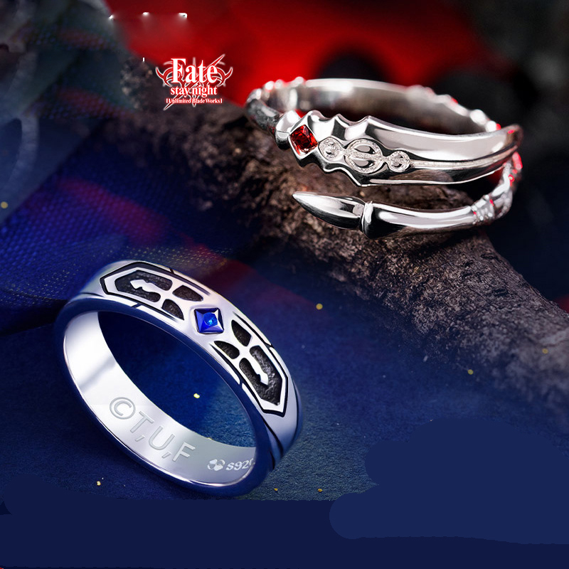 Grandmaster of Demonic Cultivation Wei Wuxian S925 Silver Finger Ring BL Anime
