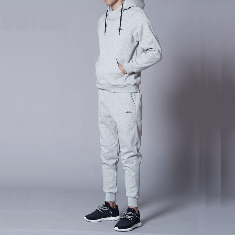 2019 Spring And Autumn New Style Sports Set MEN'S Hoodie Men's Hooded Casual Sports Clothing Korean-style Set Men's