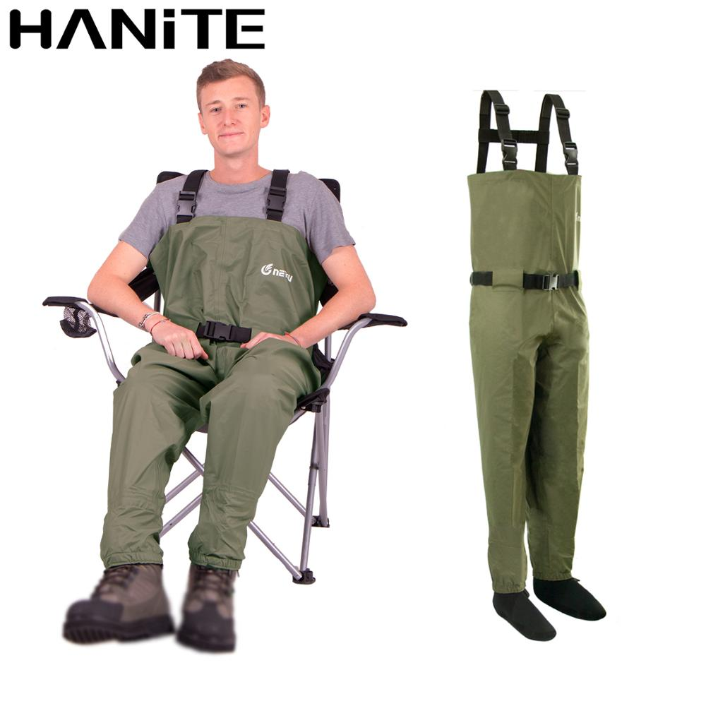 HANITE Breathable Fishing Waders, High Quality Hunting Rafting  Pants Trousers , Stockingfoot Chest Wader