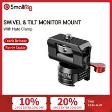 Smallrig Universal Swivel En Tilt Monitor Mount Met Nato Klem Voor Smallhd/Atomos/Blackmagic Monitor/Scherm/evf Mount  2347