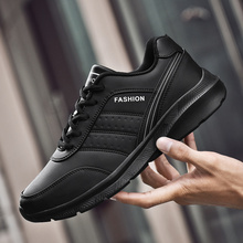 2019 New Hot Winter Mens Shoes Leather Casual Comfortable Work Designer Brand Runing Sneakers mens trainers