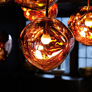 Image 5 - Nordic Pendant Lights lustre 100% PVC Lava Pendant Lamp Purple Lighting Hanging Lamp Master Bedroom Bar Europe Kitchen Lights