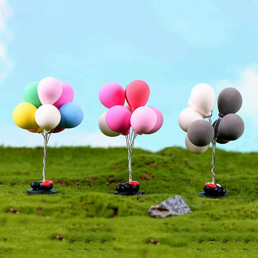 1:12 /1:6 Dollhouse Miniature Scene Simulation Mini Model Balloons Kids Pretend Play Toys for Children Doll House Accessories
