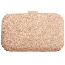 BEAU-PU кожаная женская мини вечерняя сумка, модный клатч, сумка для банкета, сумка на плечо для девушек, сумка-мессенджер, золотая