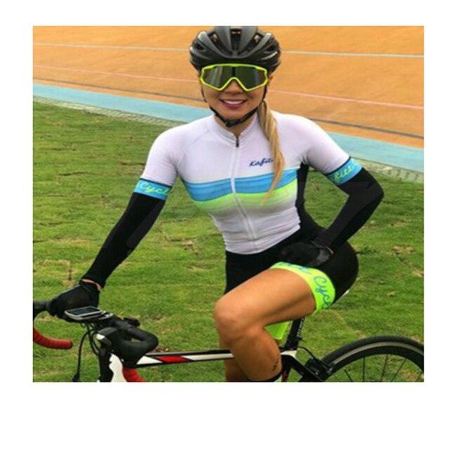 Aofly macacão feminino de manga curta, roupa de ciclismo go pro mtb, macacão 9d com almofada em gel, 2020 verão 6