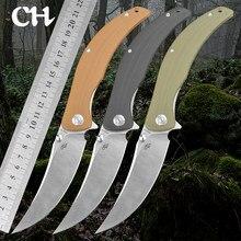 Ch Sultan Vakmanschap D2 Steel Blade Zakmes G10 Handvat Outdoor Camping Survival Duiken Edc Tool Pocket Knifves Nieuwe