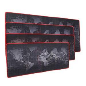 Image 2 - Tapis de souris de Gaming personnalisé, grand format, cartes du monde antidérapant, en caoutchouc naturel, pour bureau CSGO Dota LOL