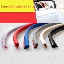 1M DIY רכב דלת קצה רצועות גומי מגן סריטות רצועת דפוס איטום אנטי לשפשף רכב סטיילינג Accesorio עבור אוטומטי אוניברסלי