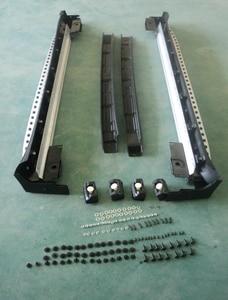Trittbrett passt für Mer-cedes Werden-nz ML300 ML350 W164 2006-2012 Aluminium seite Nerf schritt bar auto pedal protector ML seite schritt