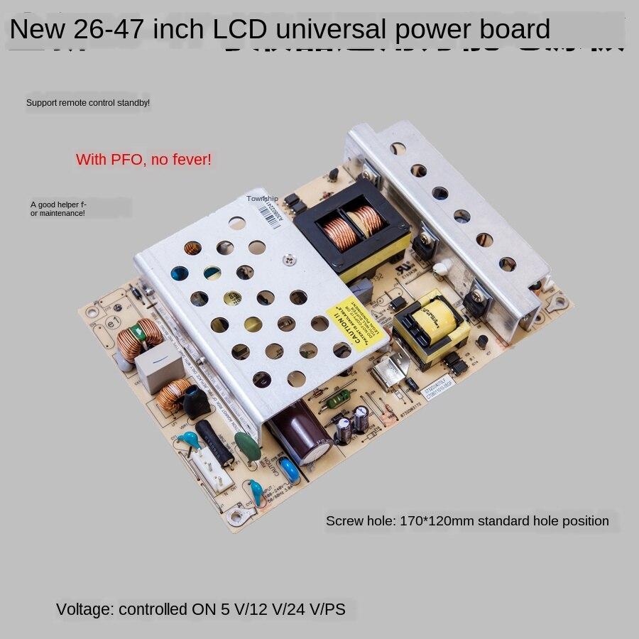 Zupełnie nowa uniwersalna płyta zasilająca LCD TV uniwersalna moc 5V SB/12 V/24 V do 32/37/39/42/46/47-Cal