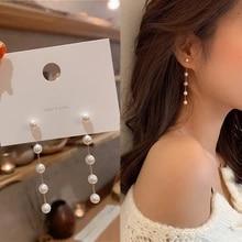 Jewelry Earrings Moon-Star Flower Rhinestone Fashion Korean Simulation-Pearl Trend Female