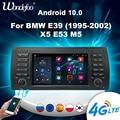 Carplay магнитола 2 din андроид 2 din Android 10 автомагнитола радио для BMW E39 E53 M5 1995-2003 Авторадио авто стерео мультимедийный плеер 7