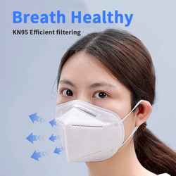KN95 Mask Anti Dust Mouth Face Mask N95 KF94 FFP2 Mask 마스크 Level 95% Filtration Mouth Cover Dust Masks Respirator Fast Ship 2