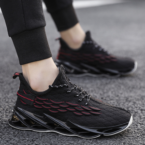 Image 3 - Fashionable plus size mens sports shoes light and breathable ladies running shoes high quality casual shoes mesh sports shoes