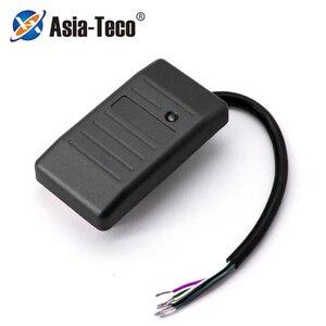 Waterproof 125khz RFID Card Reader Wiegand 26 34 Card Reader LED Indicators Security RFID EM ID Card Access Control Reader(China)