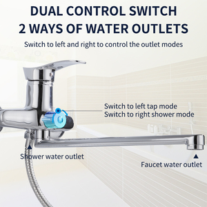 Olinia bathroom shower faucet bathtub faucet bathroom shower faucet mixer faucet shower water mixer bath tap OL8096