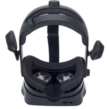 For Valve Index Wide Mask Leather Eye Mat Magnetic Suction Leak Proof Light Nose Lining Comfortable Breathable Easy To Install