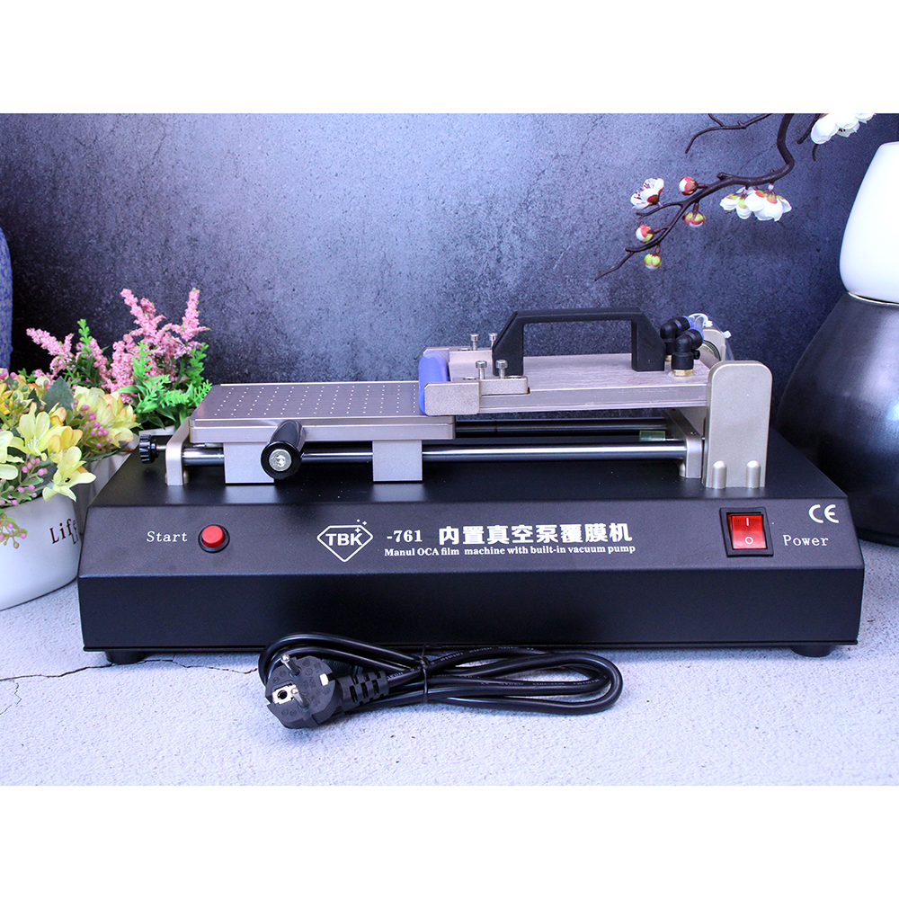 Manual OCA Laminator Built-in Vacuum Pump Universal OCA Film Laminating Machine Multi-purpose Polarizer For LCD Film TBK-761