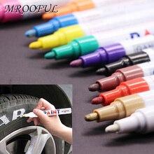 Marker-Pen Painting Graffiti Stationery Art-Supplies Permanent-Paint Car-Tyre-Tire Metal