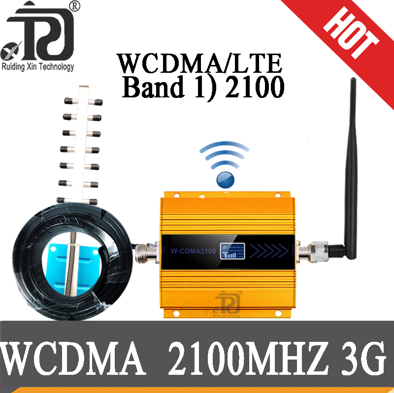 3G Repeater (LTE Band 1) 2100mhz UMTS Mobile Signal Booster 3G (HSPA) WCDMA 2100MHz 3g Signal Amplifier Cellular Repeater