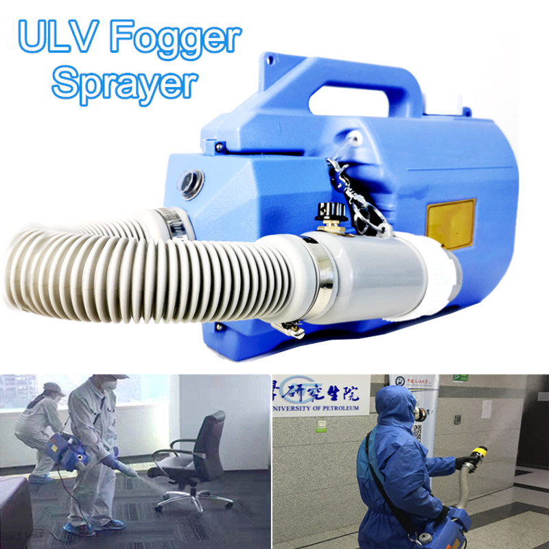 SGODDE 1000W 5L Electric ULV Sprayer Disinfectant Fogger Machine Electric Sprayer Fogging Fine Mist Sprayers Nebulizer