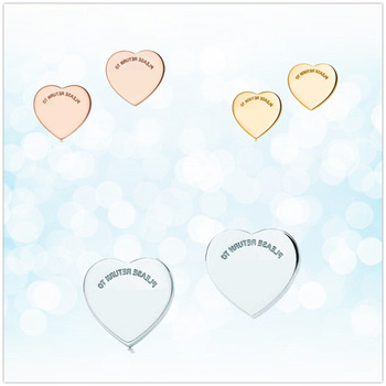 цена на Sterling silver 925 classic fashion silver heart shaped ladies earrings jewelry holiday gift