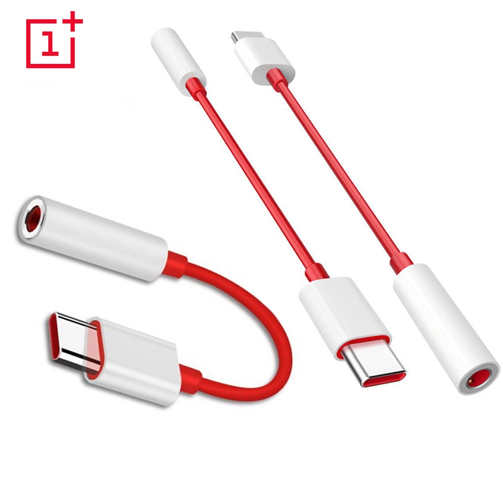 Original USB Type C To 3.5mm Earphone Jack Adapter Aux Audio For One Plus 7 Usb-c Music Converter Cable For Oneplus 6T 7 Pro