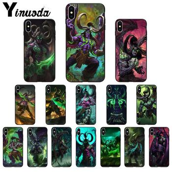 Yinuoda Demon Hunter Illidan Stormrage High Quality Phone Case for iPhone 11 pro XS MAX 8 7 6 6S Plus X 5 5S SE XR SE2020 image