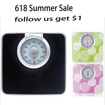 Mechanical scales, Weight scale household bathroom 120kg health scales spring balances