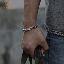 XIYANIKE – Bracelet torsadé en argent Sterling 925, tissé, neutre, rétro thaïlandais, Original, fait à la main, exquis, Unique, cadeau