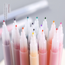 24 Colors Multicolour Single Highlighter Pen Fluorescent Watercolor Drawing School  Art Stationery Kids Painting Supplies