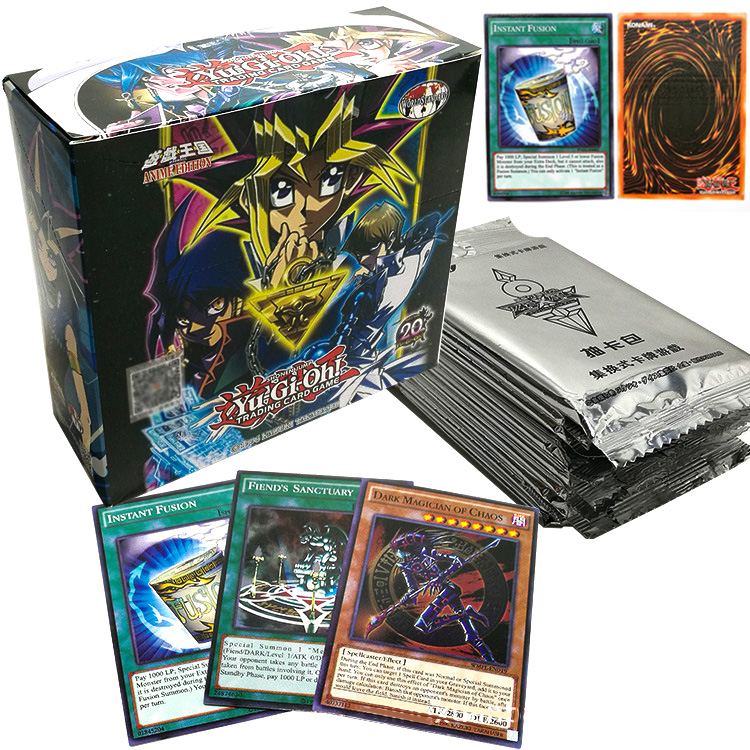 Yu Gi Oh TCG English Table Game Collections Toys 240pcs Yugioh Extension Cards OCG Deck For Children Christmas Gifts