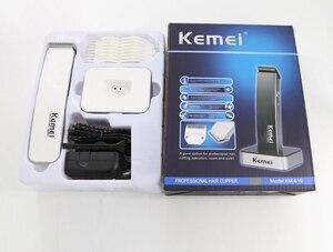 Image 5 - Kemei Trimmer tagliacapelli elettrico portatile uomo donna rasoio macchina per taglio di capelli barbiere rasoio tagliacapelli tagliaerba affilato