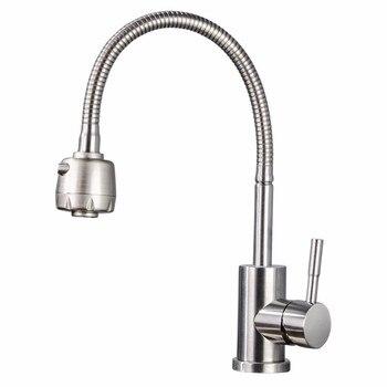Kitchen stainless steel faucet sprayer taps for kitchen torneiras kitchen faucet wall flexible kitchen faucets kitchen sink tap kitchen creamery