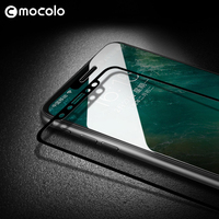 Mocolo Full Glue Premium Glass Film for iPhone 11 Screen Protector Full Cover for iPhone 11 PRO MAX Tempered Glass Film Anti oil|Phone Screen Protectors| |  -