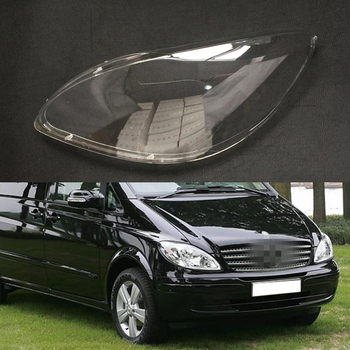 Car Headlight Lens For Mercedes-Benz Vito W639 2006 2007 2008 2009 Car Headlight Headlamp  Lens Auto Shell Cover