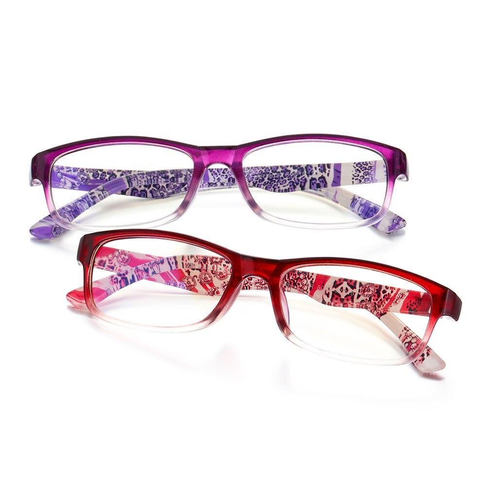 Classique élégant TR90 résine lunettes de lecture Anti-lumière bleue radioprotection presbytie lunettes Portable ultraléger Comfor