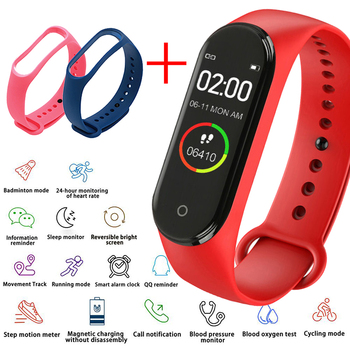 Men's Electronic Watch Women's Heart Rate Monitor Bluetooth Waterproof Message Call Reminder Pedometer Kids Watches Android IOS