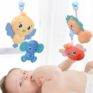 Image 5 - 4305 conteúdos berço móvel cama sino com música e controle remoto aprendizagem precoce crianças brinquedo bebê chocalho infantil brinquedos para 0 12 meses