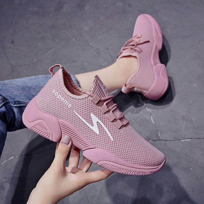 Tenis Feminino 2019 New Arrival Outdoor Lace-Up White Sport Shoes For Women Tennis Shoes Sneakers Light Soft Round Cross Straps