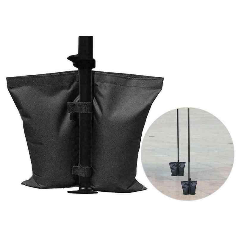 1 adet Gazebo bacak ağırlıklı kum torbaları Up gölgelik ayak kum torbaları açık bahçe partisi düğün Gazebo aksesuarları