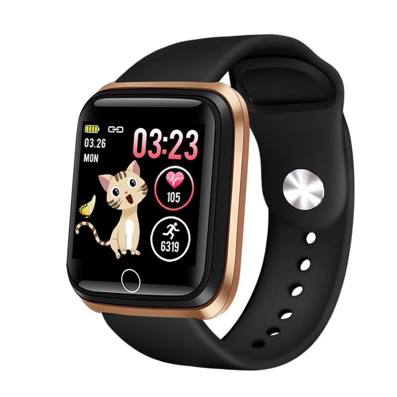 2019 New Smart watch waterproof Tempered glass Activity Fitness tracker Heart rate monitor LIGE Men women smartwatch sport watch