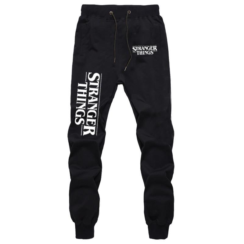 Stranger Things Sports Pants Autumn Winter Harajuku Full Length Pants Men's Casual Streetwear Sweatpants Boys Cotton Trousers