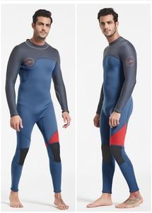 Image 3 - Date 3mm néoprène combinaison hommes femmes maillot de bain équipement pour la plongée sous marine natation surf chasse sous marine costume Triathlon combinaisons