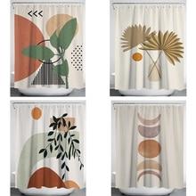 Shower curtains printed decor bathroom shower curtain for the bathroom 150x180 180x180 180x200cm household items home decoration